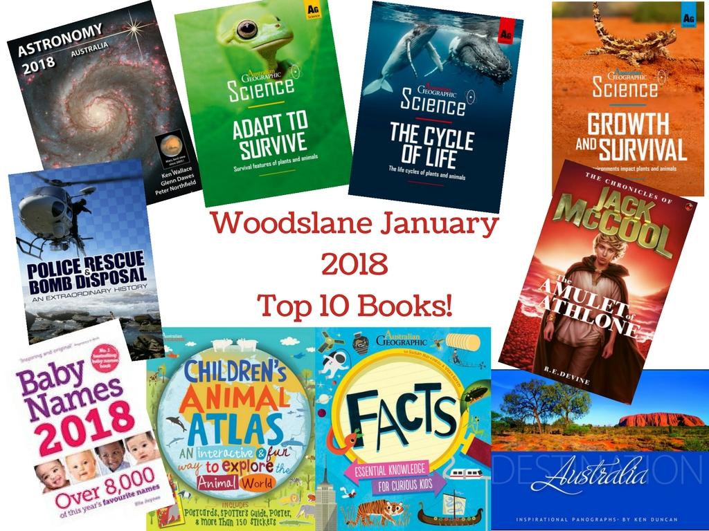 January 2018 Top 10 Book Woodslane Pty Ltd